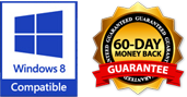 60-Day Money Back Guarantee | Windows 8 Compatible
